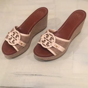 Tory Burch size 7.5 wedges